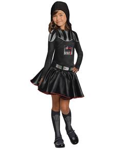 Kostium Darth Vader dla dziewczynki