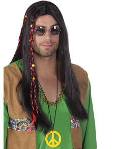 Peruka hippie męska