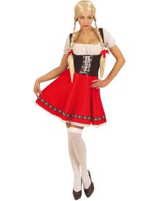 Kostium uwodzielka Heidi damski