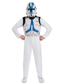 Kostiumy Darth Vader i Klon Trooper Star Wars w pudełku dla chłopca