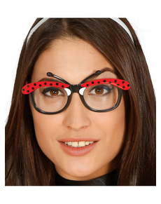 Okulary biedronka dla dorosłych